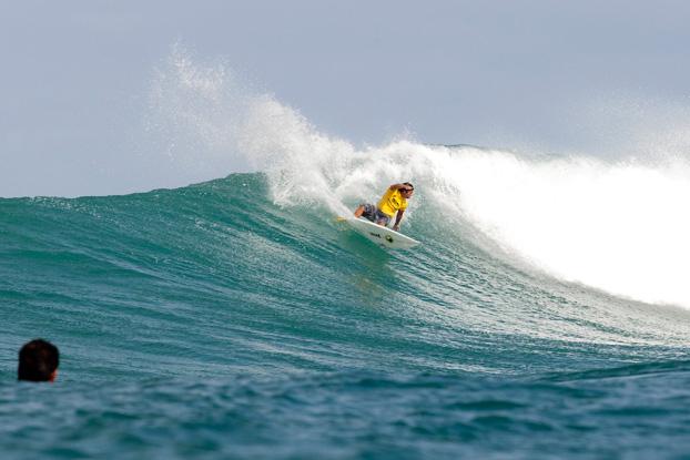 Kekoa Bacalso, Vans World Cup of Surfing 2011, Sunset Beach, Hawaii. Foto: © ASP / Cestari.
