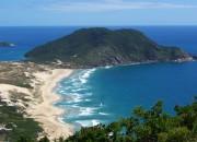 Praia do Santinho, Florianópolis. Foto: Israel Rocha.