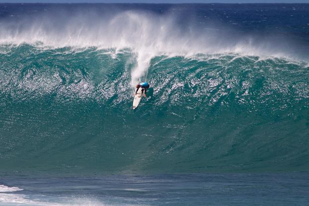 Shane Dorian, Billabong Pipe Masters 2011, Pipeline, Oahu, Hawaii. Foto: © ASP / Kirstin.