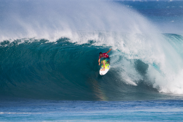 Joel Parkinson, Billabong Pipe Masters 2011, Pipeline, Oahu, Hawaii. Foto: © ASP / Kirstin.