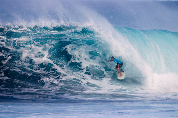 Kieren Perrow, Billabong Pipe Masters 2011, Pipeline, Oahu, Hawaii. Foto: © ASP / Kirstin.
