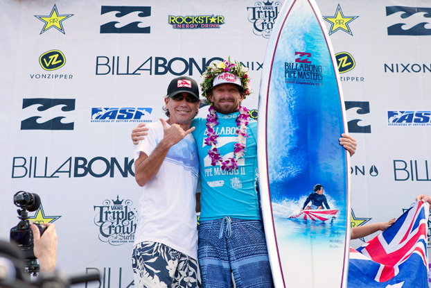 Kieren Perrow, Billabong Pipe Masters 2011, Pipeline, Oahu, Hawaii. Foto: © ASP / Cestari.