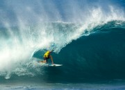 John John Florence, Volcom Pipe Pro 2012, Pipeline, Oahu, Hawaii. Photo: Volcom / Bielmann.