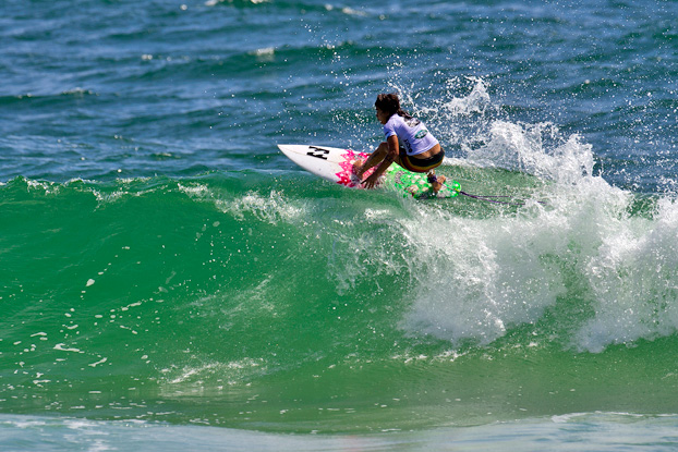 Silvana Lima, Roxy Pro 2012, Snapper Rocks, Gold Coast, Austrália. Foto: © ASP / Kirstin.
