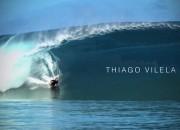 Thiago Vilela, Teahupoo, Tahiti. Frame: Prone Mediah.
