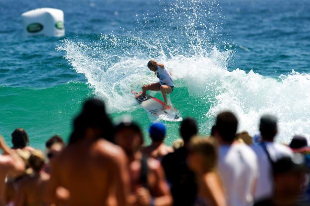 Laura Enever, Roxy Pro 2012, Snapper Rocks, Gold Coast, Austrália. Foto: © ASP / Robertson.