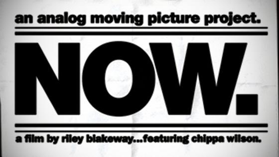 Capa do filme Now, da Analog. Foto: Reprodução.