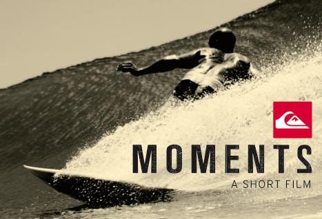 Capa do filme Quiksilver Moments 2. Foto: Reprodução.