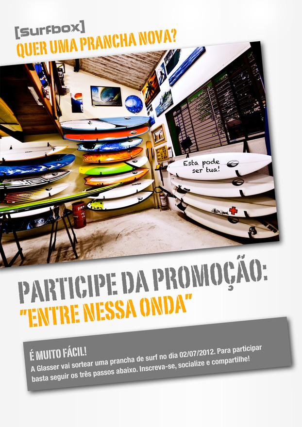 """Cartaz da promoção """"Entre Nessa Onda""""."""