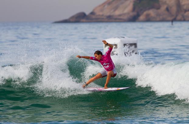 Sally Fitzgibbons, Billabong Rio Pro 2012, Barra da Tijuca, Rio de Janeiro (RJ). Foto: © ASP / Kirstin.