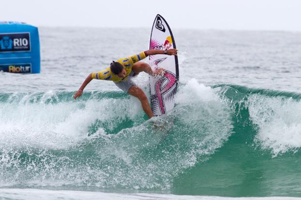 Sally Fitzgibbons, Billabong Rio Pro 2012, Barra da Tijuca, Rio de Janeiro (RJ). Foto: © ASP / Dunbar.