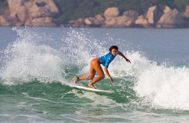 Alessa Quizon, Billabong Rio Pro 2012, Barra da Tijuca, Rio de Janeiro (RJ). Foto: © ASP / Dunbar.
