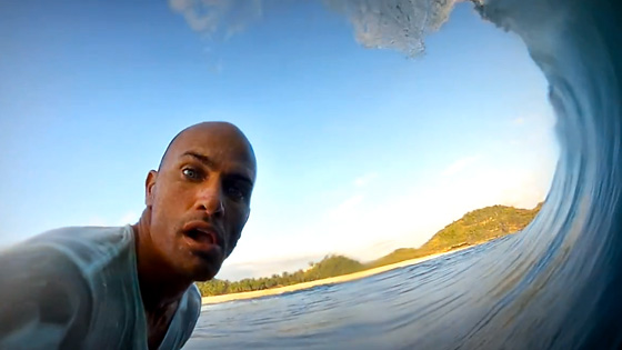 Kelly Slater, Fiji. Foto: Arquivo pessoal.