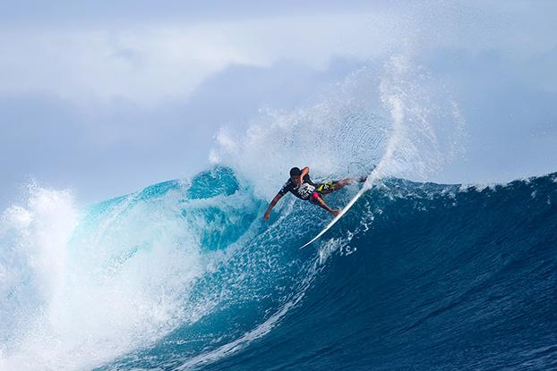 Heitor Alves, Volcom Fiji Pro 2012, Cloudbreak, Fiji. Foto: © ASP / Kirstin.