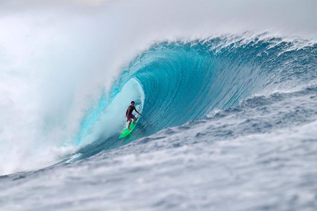 Diego Silva, Cloudbreak, Fiji. Foto: © ASP / Kirstin.