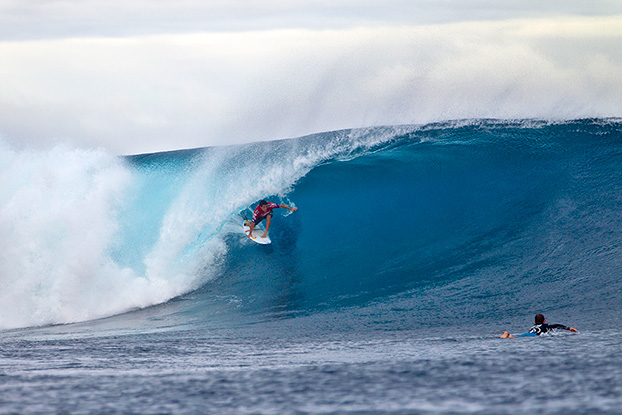 Adriano de Souza, Volcom Fiji Pro 2012, Cloudbreak, Fiji. Foto: © ASP / Kirstin.