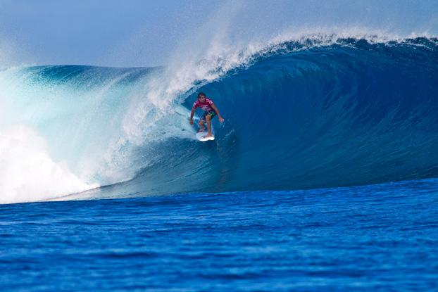 Julian Wilson, Volcom Fiji Pro 2012, Cloudbreak, Fiji. Foto: © ASP / Kirstin.