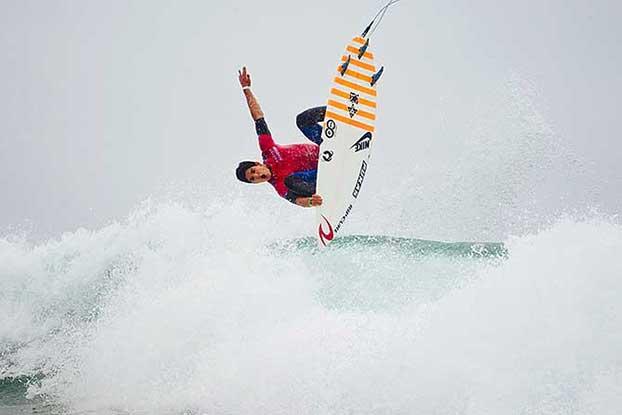 Gabriel Medina, US Open of Surfing, Huntington Beach, Califórnia (EUA). Foto: Divulgação.