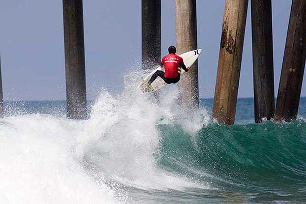 Miguel Pupo, US Open of Surfing, Huntington Beach, Califórnia (EUA). Foto: Divulgação.