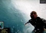 Kelly Slater, Tahiti. Foto: Reprodução GoPro.