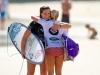 Tyler Wright e Dimity Stoyle, Roxy Pro 2013, Kirra, Gold Coast, Austrália. Foto: © ASP / Will H-S.
