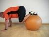 Ponte Nº 15 - Mobilização - Realizar de de 3 a 4 séries, de 10 a 15 repetições cada - Com apoio das mãos e dos pés, fazemos flexão e extensão do quadril e joelhos, em um movimento similar ao de ficar em pé na prancha (ver imagem anterior).