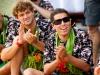 Alejo Muniz e Adriano de Souza, Volcom Fiji Pro 2012, Cloudbreak, Fiji. Foto: © ASP / Kirstin.