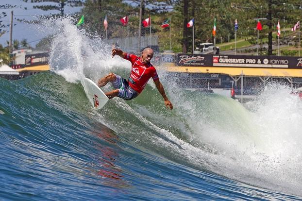 Kelly Slater, Quiksilver Pro 2013, Rainbow Bay, Austrália. Foto: © ASP / Will H-S.