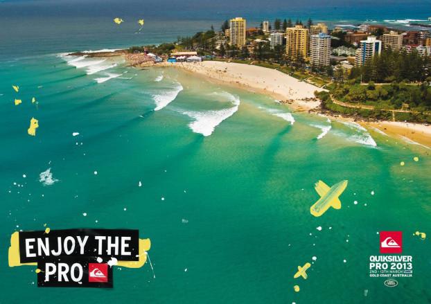 Quiksilver Pro 2013, Superbank, Gold Coast Austrália. Foto: Quiksilver.