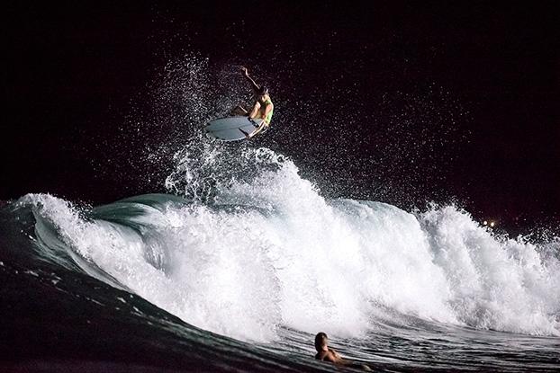 Sebastien Zietz, Keramas, Indonésia. Foto: Russ Hennings.