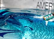 Protótipo do projeto Perfect Swell, nova piscina de ondas da American Wave Machines. Foto: Reprodução.